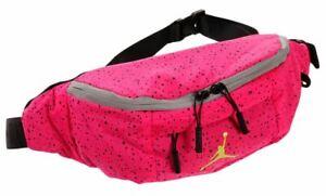 Nike Air Jordan Poolside Crossbody Fanny Pack Hot Pink 9A0287-A96_Pin New