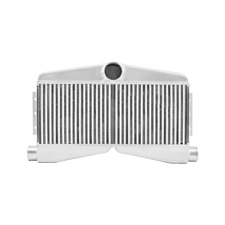 Cxracing 275x16x35 Twin Turbo Bar Amp Plate 2in 1out Intercooler For Mustang