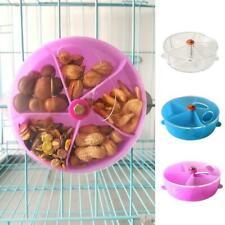 Rompecabezas de alimentación de mascotas Dispensador Alimentador Loro Morder Juguete Foo rueda forrajeo Pájaro G5A5
