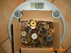 10,0  kg - 100% VHM Schrott Hartmetallplatten/Werkzeuge ,Wendeplatten