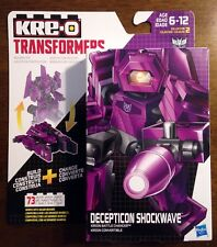 SHOCKWAVE BATTLE CHANGER Transformers KRE-O Set MISB new kreo kreon G1