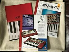 NORD SYNTHESIZER BROCHURES - NORD LEAD 3 / NORD LEAD 2 / NORD MODULAR.