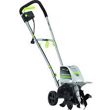 Electric 11in Soil Cultivator Tiller 8.5Amp Garden Weeding Equipment Power Tool