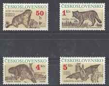 Timbres Animaux Tchécoslovaquie 2863/6 ** lot 2868