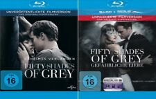 Fifty Shades of Grey 1 + 2 - Geheimes Verlangen - Gefährliche Liebe    | Blu-ray