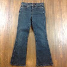 Jeanstar Flare Leg Women's Size 6 Short Blue Jeans Dark Wash