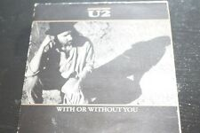 U2 WITH OR WITHOUT YOU ORIGINAL GATEFOLD CD 1987 ISLAND RECORDS CID 319