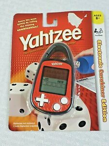2011 YAHTZEE HANDHELD ELECTRONIC GAME CARABINER EDITION 1734 - NEW IN PACKAGE