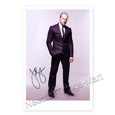 Jason Statham aus Transporter / Crank -  Autogrammfotokarte laminiert [A06] 