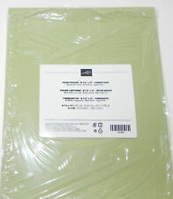 Lot Pear Pizzazz 80 Lb Stampin Up 8.5 X 11 Card Stock Paper 10 Sheets