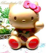Hello Kitty Maneki Neko Coin Bank Pippy Lucky Beckoning Fortune Money Gold Cat