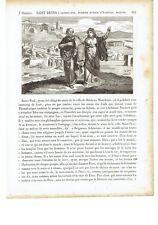 1825 San Dionigi l'Areopagita Patrono Avvocati Crotone Saint Denys L'Areopagite