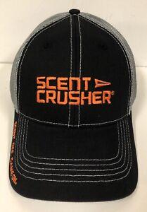 NEW SCENT CRUSHER HAT, GREY MESH SNAPBACK CAP