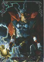 2018 Upper Deck Marvel Masterpieces Base Set Card #28 Beta Ray Bill /1999