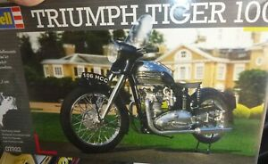 Revell 07922 Triumph Tiger 100 MOTORCYCLE KIT 1:8 McM FS