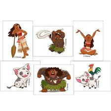 Moana Tattoos x 12 - Loot Bags - Party Favours - Moana Party - Moana Birthday