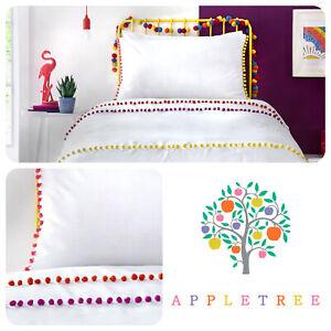Appletree Kids POM POM STRIPE Multicolour 100% Cotton Duvet Cover Set