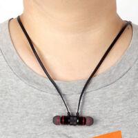 Bluetooth 4.1 Stereo Earphone Headset Wireless Magnetic In-Ear Earbuds Headphone