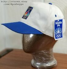 New Atlanta Olympics Vintage 1996 Stitched Natural White Hat Cap Snapback