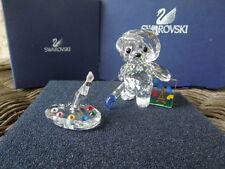 SWAROVSKI KRIS BEAR FRANCOIS /  PAINTER'S PALETTE , MAKE OFFERS !!!