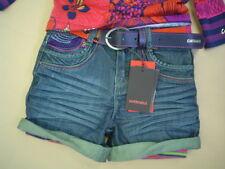 WI 12/13 - Catimini SPIRIT étnicas Pantalones Cortos Vaqueros talla 6a + 8A