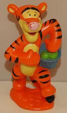 "3"" Tigger w/ Blue Apple Basket PVC Plastic Action Figure Disney Winnie The Pooh"