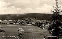 Häusern bei St. Blasien Schwarzwald Postkarte 1960 Gesamtansicht Panorama Wald