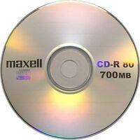 MAXELL CD-R 80 700MB 52x Pack de 5x3 uds.en Estuche Individual Total 15 unidades