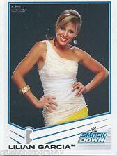 Lilian Garcia 2013 WWE Topps Triple Threat Trading Card #68 Smackdown Diva