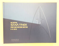 Beautiful 2010 Star Trek Prop & Costume Auction Catalog- Hardcover 294 Pages