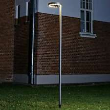 LED Außenleuchte Jannis Lampenwelt Mastleuchte Kandelaber Außenbeleuchtung