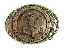 Dr. of Chiropractic TX College Belt Buckle To Honor S. L. MONTOYA DC 11916