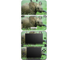 Vinyl Skin Decal Cover for Nintendo 3DS XL LL - Baby Elephant