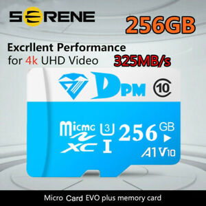 Memory Micro Card 64GB-1TB 100MB/S Class10 U3 4K Fast Flash TF Card with Adapter