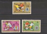 """Lot timbres Mongolie """"Foot-ball"""" année 1978 Mongolia"""