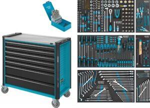 HAZET Werkstattwagen Assistent mit 7 Schubladen und 340 Werkzeugen 179NXXL-7/340