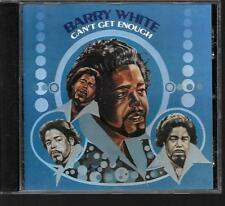 CD ALBUM 7 TITRES--BARRY WHITE--CAN'T GET ENOUGH--1974
