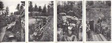 POSTCARDS & PHOTOGRAPHS OF WWI TRENCHES/FEATURES around Ypres, Belgium.