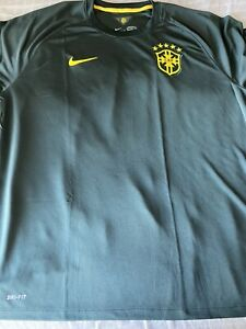 Nike LE Brazil 3rd Jersey 2014 Sz. 2XL Sequoia Green 100% Original With Tags