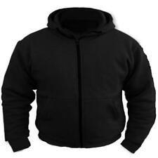 Motorbike Motorcycle Fleece Removable Armour Protective Lined Hoodie