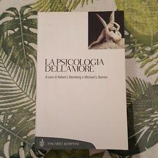 """AAVV,""""La psicologia dell'amore"""",Bompiani,a cura di Sternberg,Barnes"""