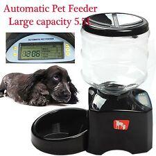Automatic Pet Feeder Remote Control Cat Dog Auto Digital Timer Food Dispenser