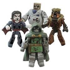 Marvel Comics Zombies Minimates Villains Ser2 4 Figure Boxed Set