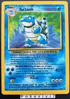 Carte Pokemon TORTANK 2/102 HOLO Set de Base Wizard FR