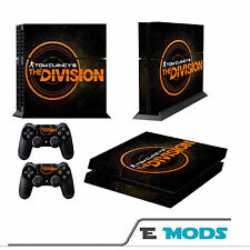The Division Playstation 4 PS4  Skin Vinyl + 2 controller stickers