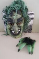 Halloween Mask Scary Adult Kid witch Cosplay Costume Horror Props