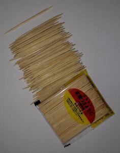 100 bamboo Wooden  Tooth Picks Dental Floss Dental Care Hygiene Tooth Picks