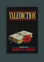 Valediction Robert B. Parker Signed HC 1st Edition, 1st Print Book in DJ