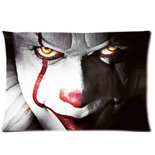 """Pennywise Pillow Case 20""""x 30"""" Pillow Cover ONE Side"""