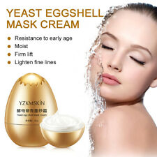 Peel-Off Facial Mask Egg Shell Yeast Mask Moisturizing Cream Lifting Anti-aging